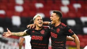 Flamengo goleia o Resende e dorme na liderança do Campeonato Carioca